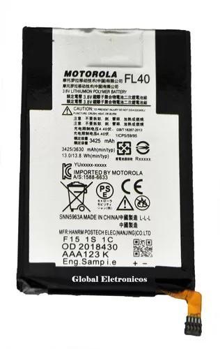 Bateria Motorola Moto X Play Xt1563 Fl40 Nova