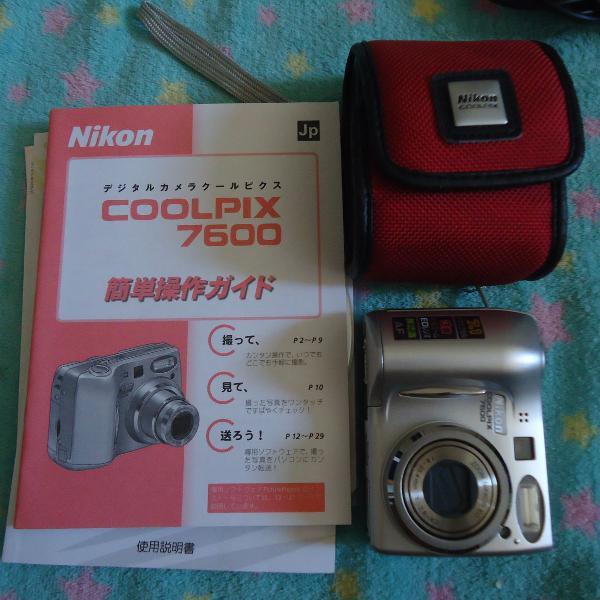Camera Nikon CoolPix 7600Para colecionadores/retirada de