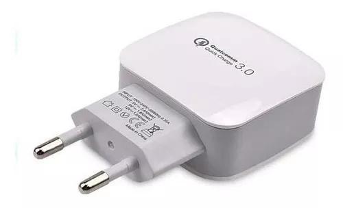 Carregador Turbo Qualcomm Usb 3.0 Universal Smartphone