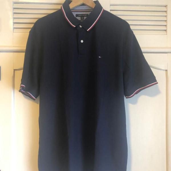 camisa polo azul tommy hilfiger xxl