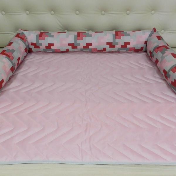 protetor pet caminha para sofá matelado c/ zíper