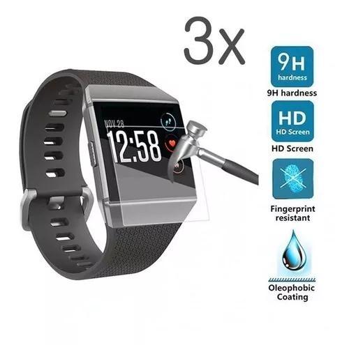 3x Película Filme Protetora P/ Relógio Fitbit Ionic