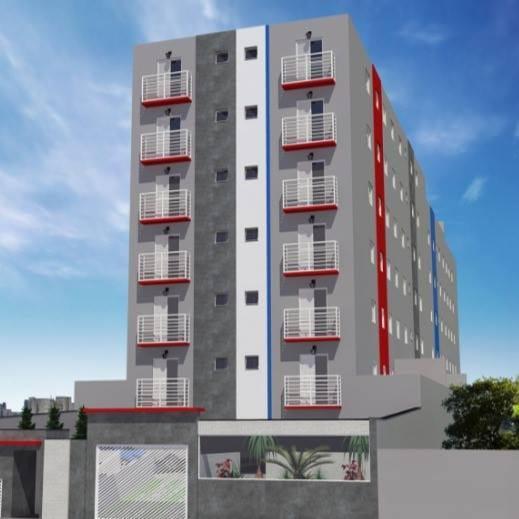 Apartamento para venda com 50 metros quadrados com 2 quartos
