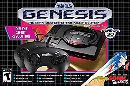 Console Genesis Mega Drive Mini Lançamento 42 Jogos