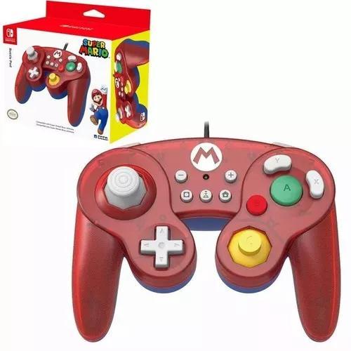 Controle Gamecube Usb Hori Super Mario Nintendo Switch Wii U