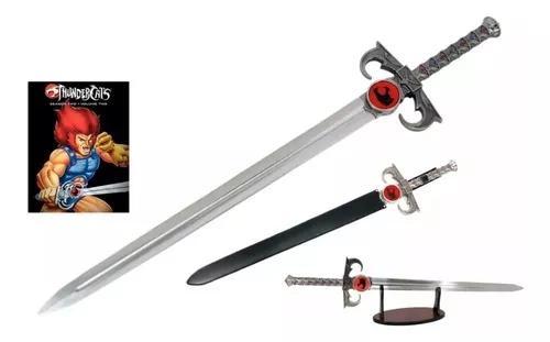 Espada Desenho Thundercats Justiceira Lion Aço Tamanho Real