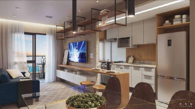 Lançamento em Barra Bonita, 61 m², 2 quartos com 1 suíte,