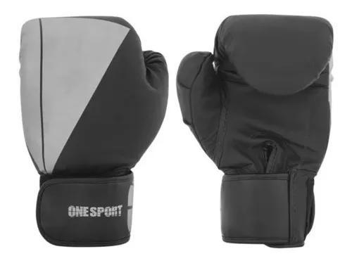 Luva Boxe Luta Muay Thai Treino Profissional One Sport Promo