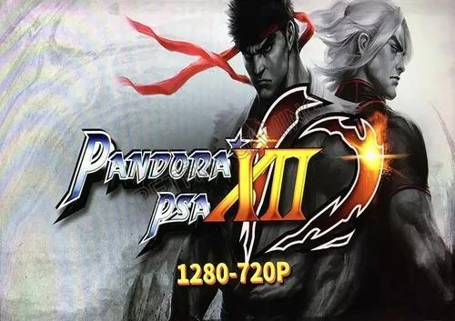 Pandora Box Xii 12 + Fonte 12v 2a