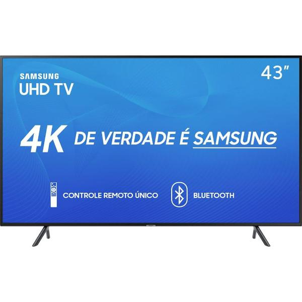 smart tv led 43'' samsung 43ru7100 ultra hd 4k