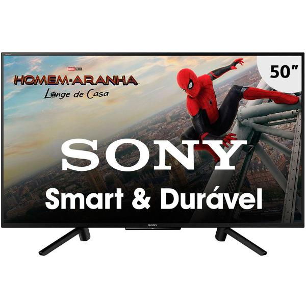 "smart tv led 50"" sony kdl-50w665f full hd"