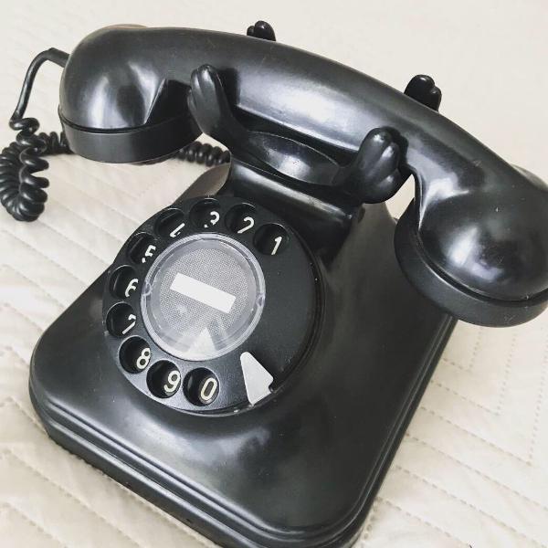 telefone antigo anos 50/60