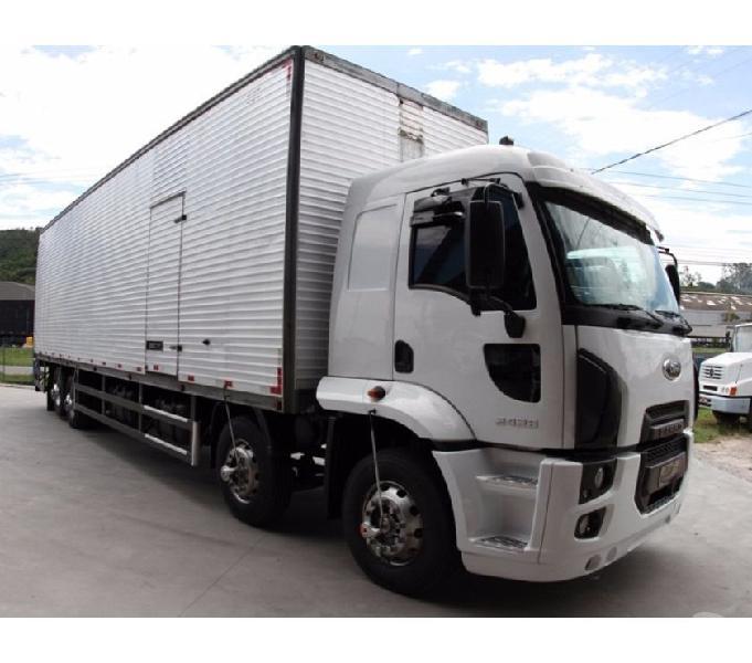Ford Cargo 2428 Ano 2014 Com Baú - 2014