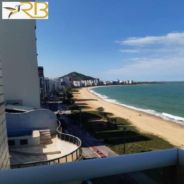 Lindo Apartamento de frente para o mar com 2 Quartos