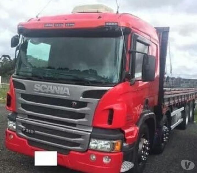 Scania p-310 8x2 Bitruck carroceria Madeira