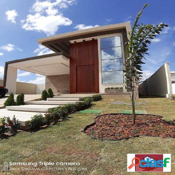 Vende-se uma excelente Casa Nova no Condomínio Alphaville