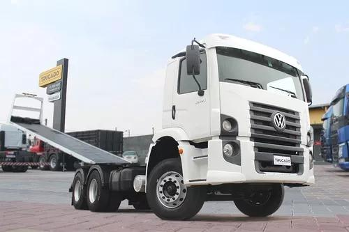 Volkswagen Vw 31280 6x4 2015 No Chassi = Vm Vw Mb Scania