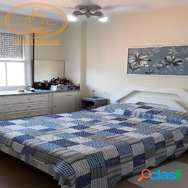Apartamento 2 dormitórios no Embaré - Santos
