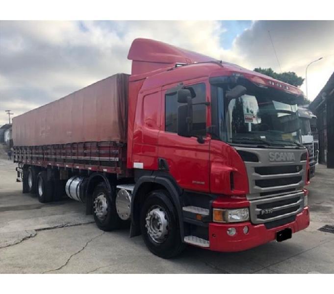 Scania P 310 6x2 Bitruck Ano 2015 mais Carroceria