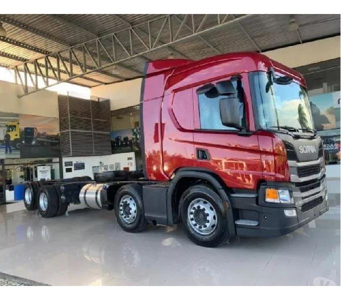 Scania P320 Bitruck 8x2 Automática Completa 201919 0km