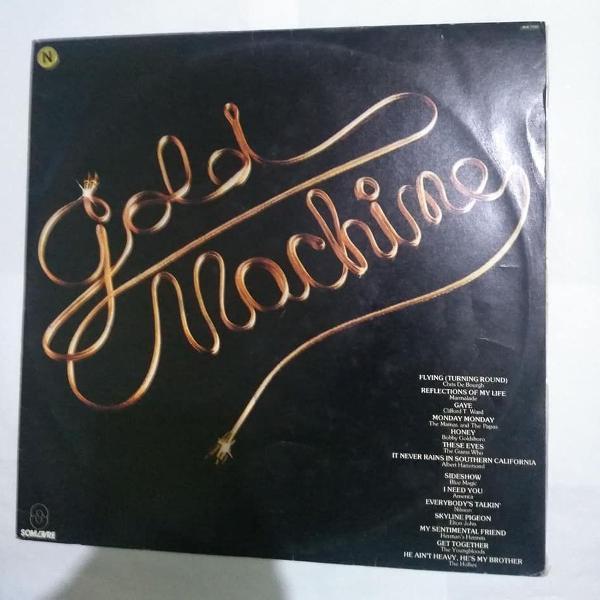 lp - gold machine - 1982 - som livre - elton john - ótimo!