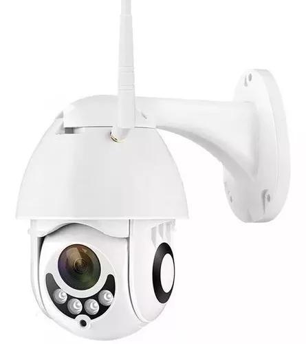 Câmera Ip Wifi Externa Ptz Dome Prova De Água Hd Icsee