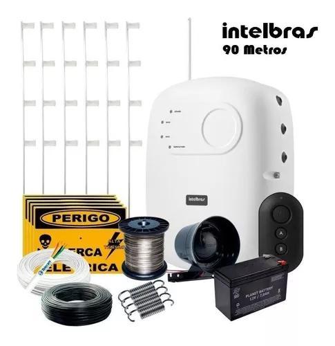 Kit Cerca Elétrica Residencial Intelbras C/ Alarme 90