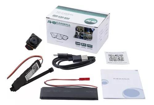 Micro Camera Hd Espiã Wireless Ip Wifi Ao Vivo Celular V55