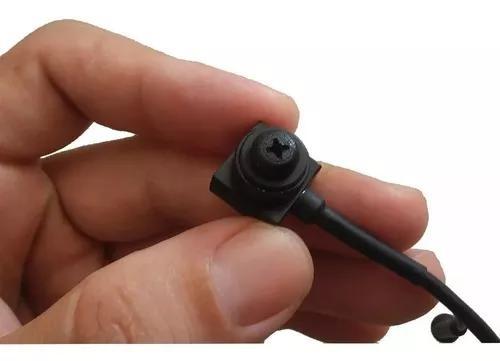 Mini Micro Camera Espia Lente Formato Parafuso 2000 Linhas