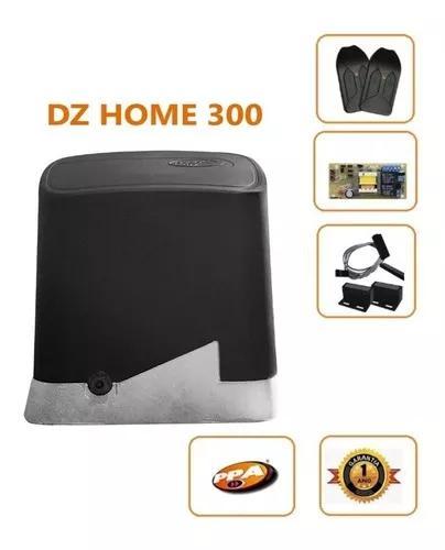 Motor De Portão Eletrônico Deslizante Dz Home 1/4 Hp Ppa