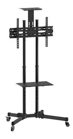 Pedestal Suporte Rack De Chão Tv 37 A 70 Pol - Sbrr0.6