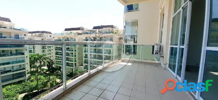 Apartamento 100m², 1 suíte, Le Parc - Barra da Tijuca
