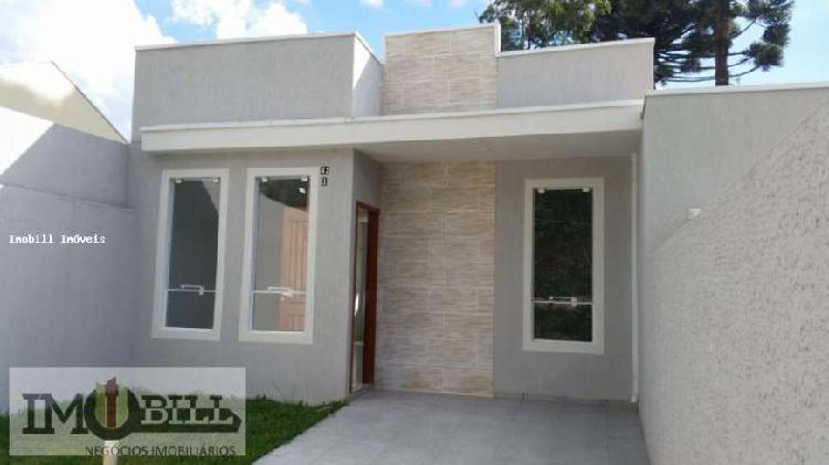 Casas 2 Quartos para Venda em Fazenda Rio Grande, Estados, 2