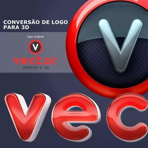 Conversão De Logotipo Para 3d