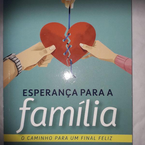 Lote com 5 Livros Esperança para a família