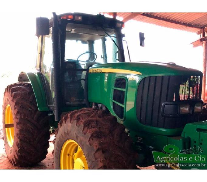 Trator John Deere 6145 J 4x4 (Apenas 2.600 Horas - Lavoura!)