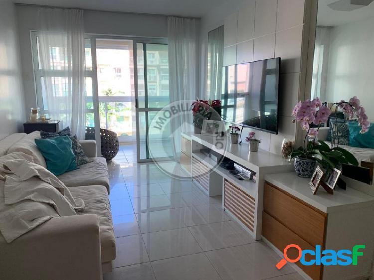 Apartamento 130m², 3 quartos, Le Parc - Barra da Tijuca
