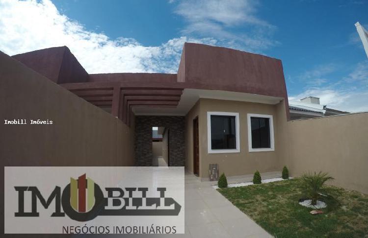 Casas 3 e 4 Quartos para Venda em Fazenda Rio Grande,