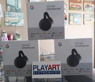 Chromecast em Maringá, Novo com Garantia ate 3x sem Juros