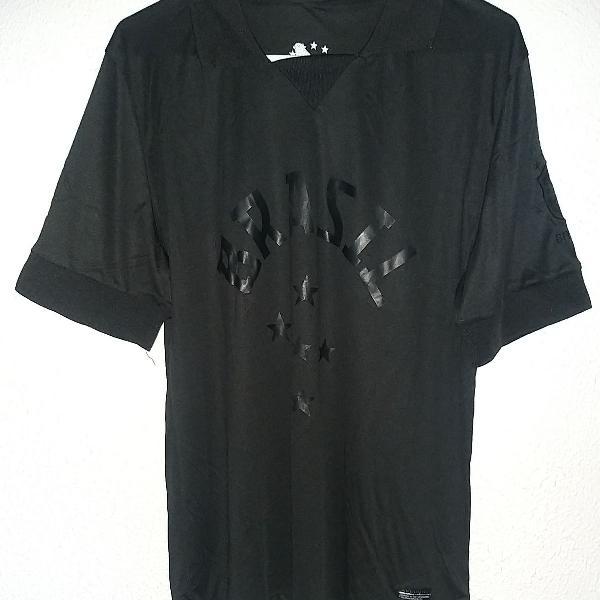 camisa seleção brasileira preta