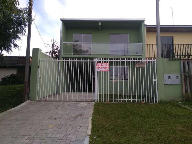 AMPLO SOBRADO NOVO COM 110m² NO BAIRRO ALTO - ESTUDA