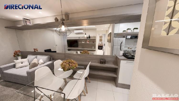 Apartamento 2 Quartos em Condomínio Fechado Próximo à