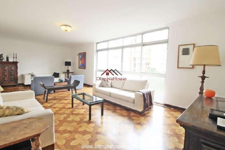 Apartamento à venda com 193m² - Cerqueira César, SP