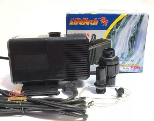 Bomba Submersa Lifetech Ap5200 3200 L/h Elevação De 4,10m