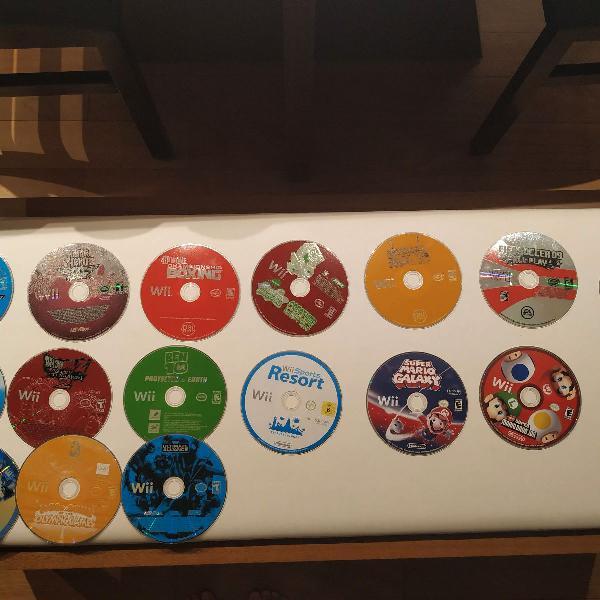 Box jogos de Wii originais
