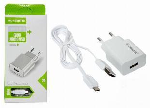 Carregador para Celular Micro USB (V8) Kimaster