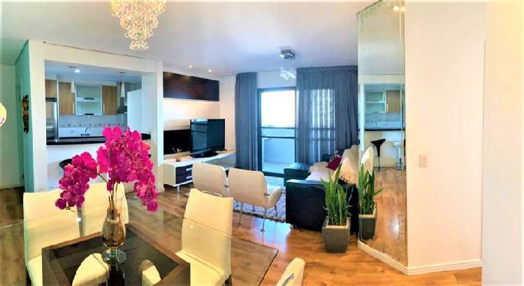 Excelente apartamento, 95 m², 3 quartos, vaga numerada,