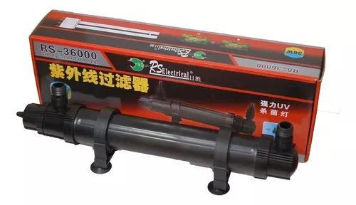 Filtro Esterilizador Uv 36w Rs Aqua 36000l/h Lagos E