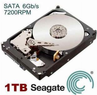 Hd Sata Seagate 1tb 1000gb Barracuda 7200rpm 6gb/s 64mb