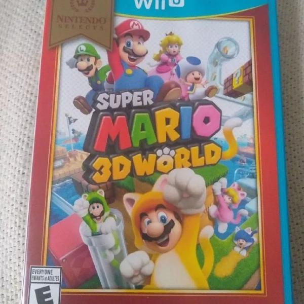 Jogo Mario para Nintendo Wii U